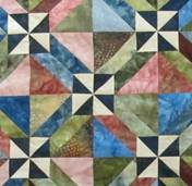 Quilt- sq triangle mystery