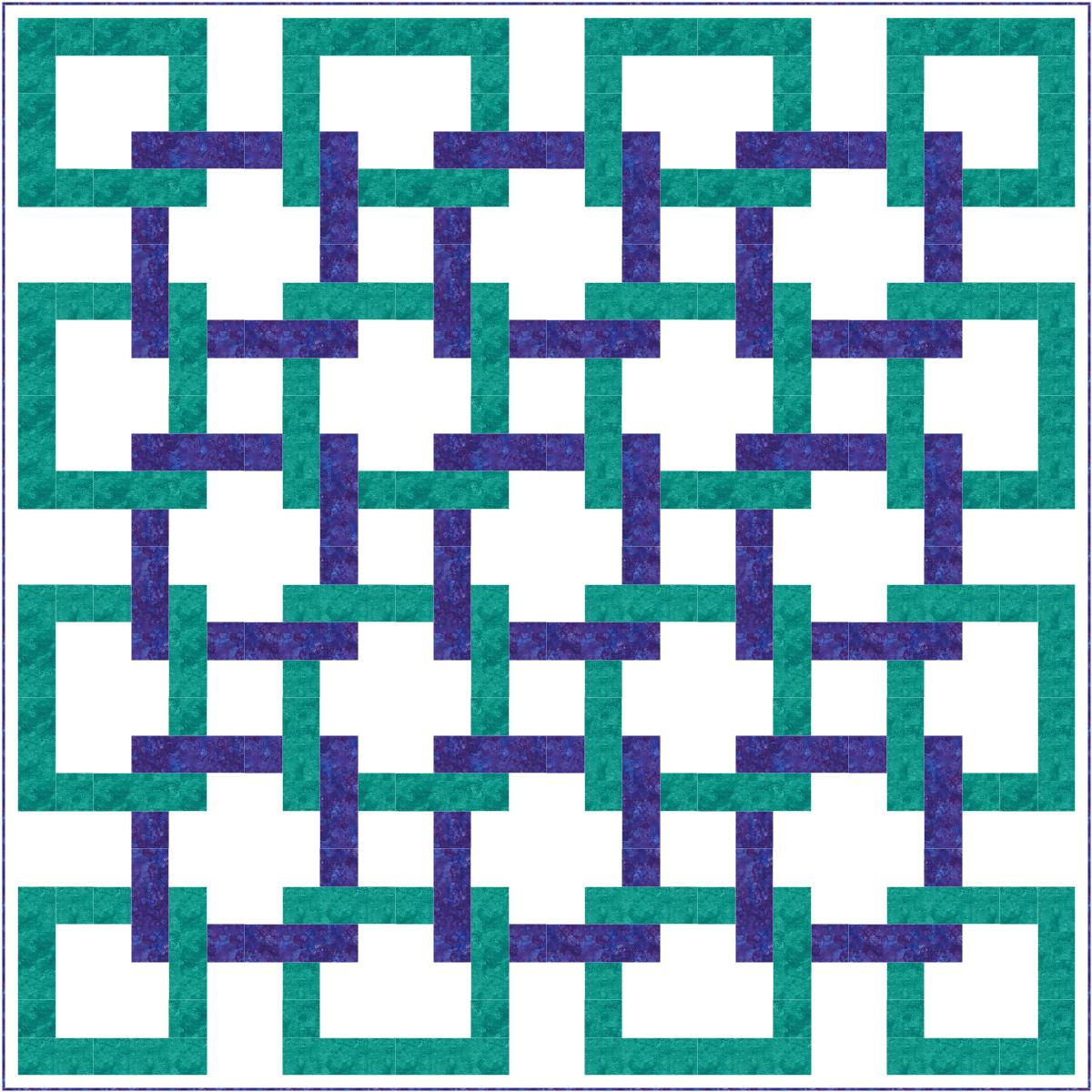 Trending Blue Squares 2