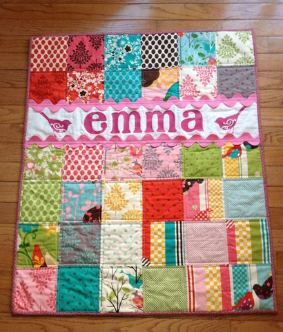 Personalized Baby Quilts Quilter S Thread