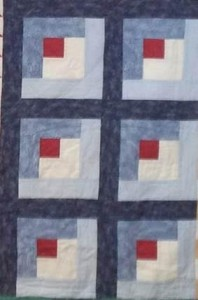 log cabin quilter's thread