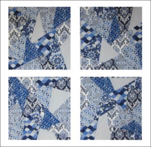 The quilt design process