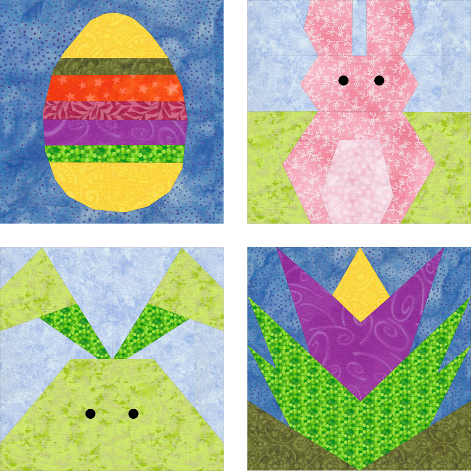 Have a beautiful quilted easter quilters thread and for the kids who already have a quilted easter basket negle Images